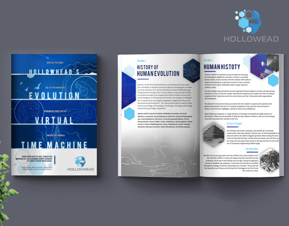 Brochure design multiple pages
